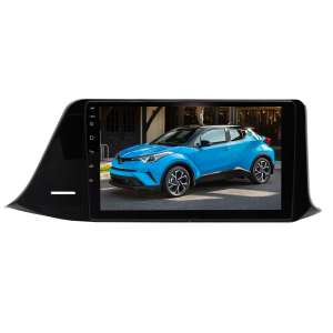 Штатная магнитола для Toyota C-HR правый руль 2016-2019 гг. LeTrun 3418-2935 9 дюймов Android 8.x MTK 4G 2.5 D 2+16 Gb