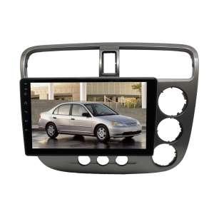 Штатная магнитола для Honda Civic правый руль 2001-2006 гг. LeTrun 3421-3792 9 дюймов IN Android 10.x  4+64 8 ядер DSP ++