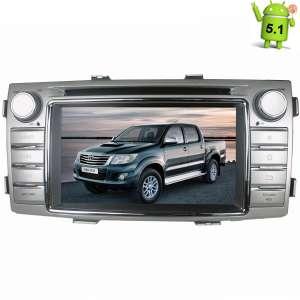Штатная магнитола Toyota Hilux с 2012 года LeTrun 1609 Android 5.1