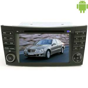 Штатная магнитола Mercedes E класс W211(2002-2009) G класс W463 LeTrun 1619 Android 4.4.4