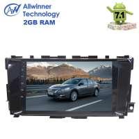 Штатная магнитола Nissan Teana 2013+ LeTrun 2575 Android 7.1.2 Alwinner экран 9 дюймов