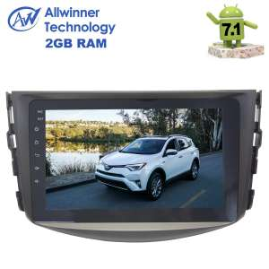 Штатная магнитола Toyota RAV4 2006-2012 г. LeTrun 2576 Android 7.1.2 Alwinner экран 8 дюймов
