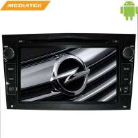 Штатная магнитола Opel Astra, Vectra, Zafira, Corsa LeTrun 1420 Android 4.4 цвет черный MTK