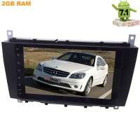 Штатная магнитола Mercedes C-Class W203(04-07), CLC-class (08-10) LeTrun 2452 Android 7.1.1 8 дюймов