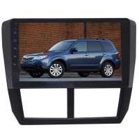 Штатная магнитола для Subaru Forester 08-12 г LeTrun 2292-3231 9 дюймов YF Android 9.x 4+64 Gb Intel 8 ядер 4G ++