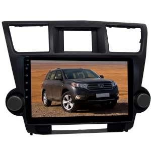 Переходная рамка для Toyota Highlander 2007-2013 гг. LeTrun 2293  под базовую магнитолу 10 дюймов