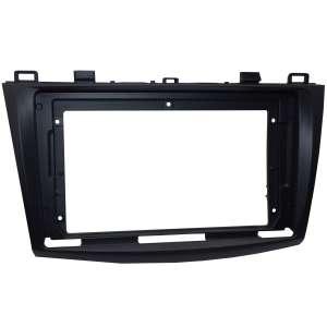 Переходная рамка для Mazda 3 09-13 г  LeTrun 2297  под базовую магнитолу 9 дюймов