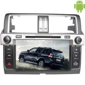 Штатная магнитола Toyota Prado 150 с 2013 Android 4.4.4 б/у LeTrun 2592 поддержка JBL