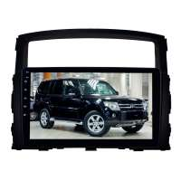 Штатная магнитола для Mitsubishi Pajero с 2006 года LeTrun 2663-2944 9 дюймов Android 8.x 4+64 Gb 8 ядер 4G  DSP
