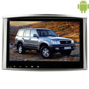 Штатная магнитола Toyota Land Cruiser 100 LeTrun 1744 Android 4.4.4 10.2 дюйма