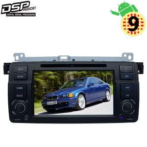 Штатная магнитола BMW 3 series E46 1998-2005 г. LeTrun 2824 Android 9.x DSP