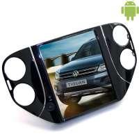 Штатная магнитола Volkswagen Tiguan 2010-2016 LeTrun 2093 Android 4.4.4 экран 10 дюймов