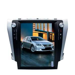 Штатная магнитола Toyota Camry с 2012-2018  год LeTrun 3062 ZF Android 7.x  экран 12 дюймов Tesla