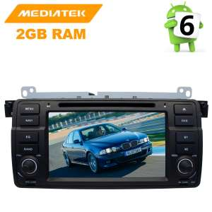 Штатная магнитола BMW 3 series E46 LeTrun 2617 Android 8.x MTK 4G