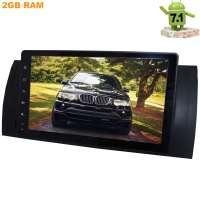 Штатная магнитола BMW 5 series E39, E53(X5) LeTrun 2468 9 дюймов! Android 8.1