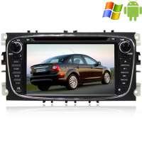 Штатная магнитола Ford Focus 2 Mondeo черный Carpad duos II Android 4.4.4