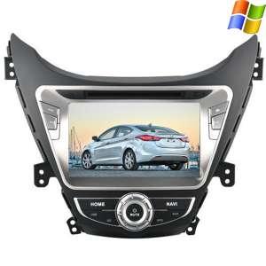 Штатная магнитола Hyundai Elantra Avante 2011-2014 LeTrun 1458