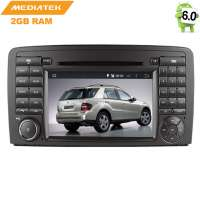 Штатная магнитола Mercedes ML, GL 2005-2012 LeTrun 1950 Android 6.0.1 MTK 4G