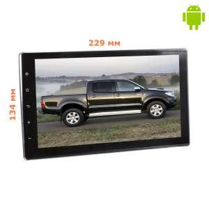 Штатная магнитола Toyota Hilux с 2015 года LeTrun 1757 Android 4.4.4 экран 9 дюймов
