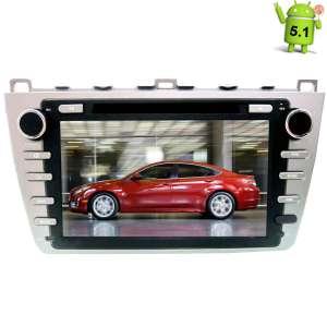 Штатная магнитола Mazda 6 2008-2012 LeTrun 1500 Android 5.1 серая