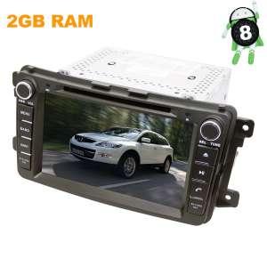 Штатная магнитола Mazda CX-9 с 2007 до 2015 года LeTrun 2778 KSP Android 8.x экран 8 дюймов