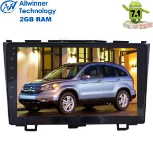 Штатная магнитола Honda CRV до 2012 года LeTrun 2198 Android 7.1 Alwinner T3 экран 9 дюймов