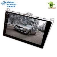 Штатная магнитола Mazda 6 2007-2012 LeTrun 2200 Android 7.1.1 Alwinner T3 экран 10 дюймов