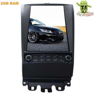 Штатная магнитола Honda Accord CL7 CL9  LeTrun 2270 Android 7.1.1 экран 12 дюймов Tesla