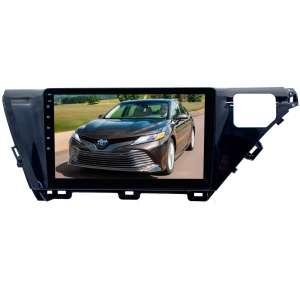 Переходная рамка для Toyota Camry с 2018 года LeTrun 2981 под базовую магнитолу 10 дюймов