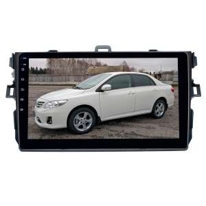 Переходная рамка для Toyota Corolla 2007-2012 г. LeTrun 2664  под базовую магнитолу 9 дюймов