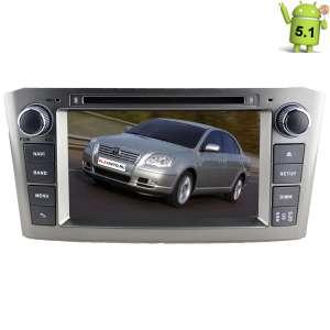 Штатная магнитола Toyota Avensis 2004-2009 LeTrun 1955 Android 5.1.1