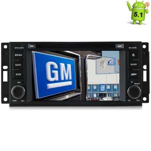 Штатная магнитола Chrysler,Jeep, Wrangler,Dodge (2006-2010)  Android 4.4.4 MTK LeTrun 1702