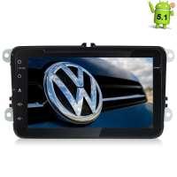 Штатная магнитола Volkswagen Polo, Jetta, Passat, Tiguan Android 5.1 LeTrun 1454