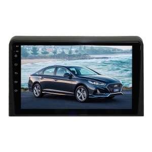 Штатная магнитола для Hyundai Sonata с 2017 года LeTrun 3810-3151 9 дюймов YF Android 9.x 2+32 Gb MTK 4 ядра 4G