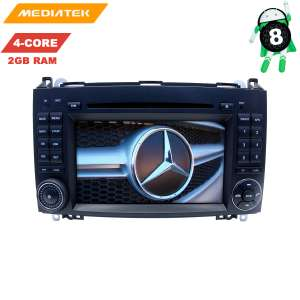 Штатная магнитола Mercedes A/B-class, Vito,Viano,Crafter,Sprinter LeTrun 3003 KD Android 8.x 4G