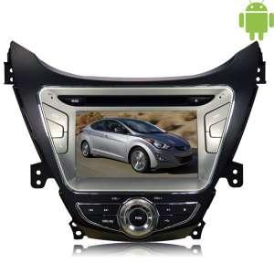Штатная магнитола Hyundai Elantra Avante с 2014 г. Carpad duos II Android 4.4.4 Letrun 1442