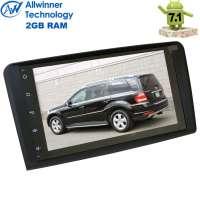 Штатная магнитола Mercedes ML, GL (2005-2012) LeTrun 2161 Android 7.1.2 Alwinner экран 9 дюймов