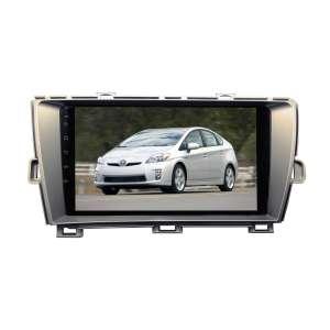 Штатная магнитола для Toyota Prius 2009-2016 правый  руль LeTrun 3554-3354 9 дюймов VT Android 9.x MTK-L 2+16 Gb ASP