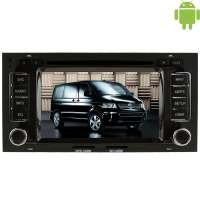Штатная магнитола Volkswagen Multivan с 2011 г. LeTrun 1492 Android 4.4.4