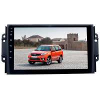 Штатная магнитола для Chery Tiggo 2 и 3 с 2017 года LeTrun 2011-3273 9 дюймов NS 2+16 Gb MTK-L Android 10.x DSP