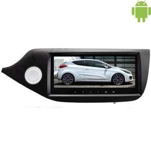 Штатная магнитола Kia Ceed с 2013 LeTrun 1733 Android 4.4.4 экран 8.8 дюйма