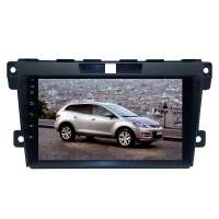 Штатная магнитола для Mazda CX7 2006-2012 гг. LeTrun 4344-4498 9 дюймов XY Android 10 MTK-L 2+16 Gb IPS