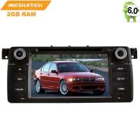 Штатная магнитола BMW 3 series E46 LeTrun 1963  Android 6.0.1 MTK 4G