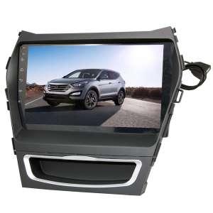 Переходная рамка для Hyundai Santa Fe, IX45 с 2013 года LeTrun 2079 под базовую магнитолу 9 дюймов