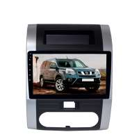 Штатная магнитола для Nissan X-trail 2007-2014 LeTrun 2505-4560 10 дюймов XY Android 10 MTK-L 2+16 Gb IPS DSP