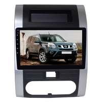 Штатная магнитола для Nissan X-trail до 2014 года LeTrun 2505-3101 10 дюймов KD Android 9.x MTK-L 2+32 Gb+DSP ++