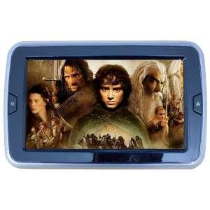 Навесной монитор на подголовник 9 дюймов LeTrun 2659 USB TF DVD серый